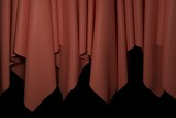 Curtain background. 3D rendering.