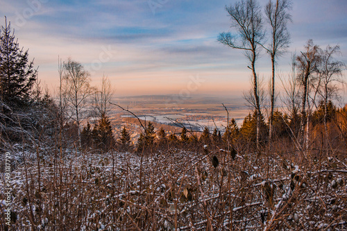 view over Harz Mountains National Park, Germany - 249387729