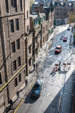Old street in Edinburgh  Scotland