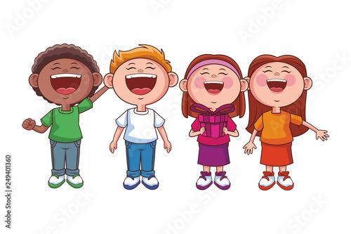 children happy smile - 249401360