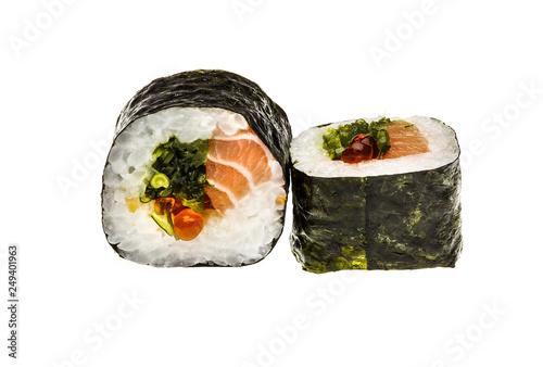 Sushi Menu Close Up Photo Of Traditional Japanese Sushi
