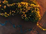 Drohnenbild Landschaft