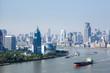 Quadro shanghai cityscape in morning