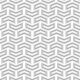 Geometric pattern with silver arrows. Geometric modern ornament. Seamless abstract background - 249461325