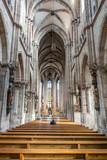 Alone in the church - 249520156