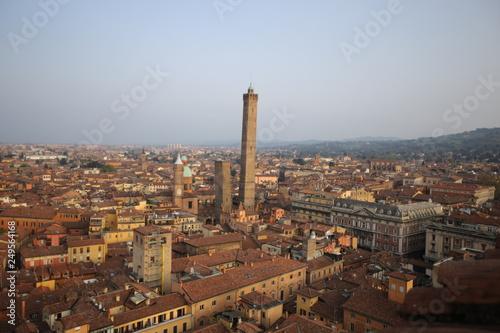 Le torri e i tetti di Bologna © Tukulti