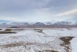 Iceland rural winter scene - 249579952