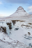 Kirkjufell iconic waterfall in Iceland - 249580135