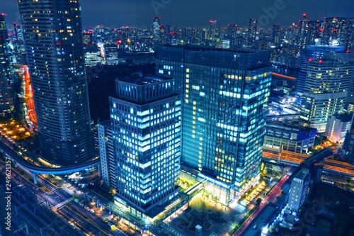 fototapeta na ścianę 世界貿易センタービルから見える東京の夜景