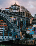 dom luis bridge porto portugal