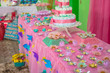 savory sweets children's parties children table colorful tastes fun
