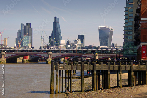 fototapeta na ścianę London Cityscape skyline England