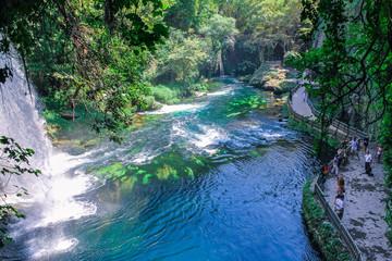 Waterfall of Antalya from Turkey