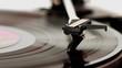 Plattenspieler und Langspielplatte