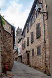 street in the center of the city of Rodez, France - 249742967