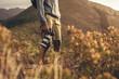 Quadro Photographer hiking in nature