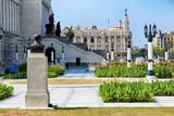 Front view on the Capitol-building, Havana, Cuba. - 249750536