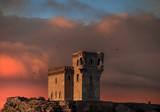 Watchtower at sunset - 249756335