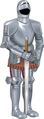 Suit of Armor Vector Illustration © FrederickS