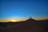 モロッコ・サハラ砂漠の日の出 - 249823380