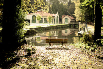 The Termas de Peso Park in Melcaço (Portugal)