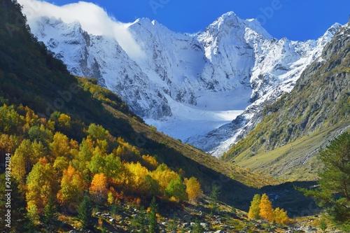 Autumn in mountains - 249827384