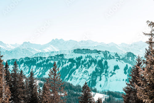 view of mountains © XtravaganT