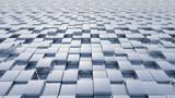 steel floor cubes