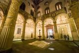 Italia, Toscana, Firenze, il cortile di Palazzo Vecchio
