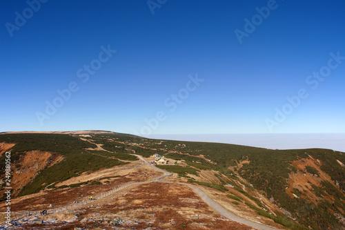 Karkonosze Mountains Landscape From Sniezka Mountain
