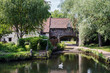 Exterior Of Pulls Ferry On River Wensum In Norwich Norfolk UK
