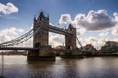 fototapeta na ścianę Tower Bridge in London, England, UK