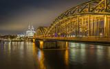 Kölner Dom bei Nacht - 249911513