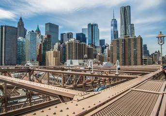 brooklyn bridge view one world