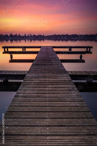 Sonnenaufgang an der havel © Kai