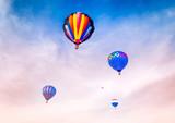 Grouping of  Hot Air Balloons - 249936990