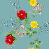 Floral patterned background - 249959594