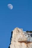 Lune et massif de la Chartreuse