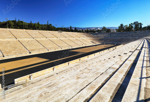 Panathenaic Stadium - Kallimarmaro is a multi purpose stadium in Athens, Greece