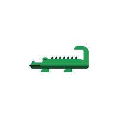 crocodile, zoo, reptile icon. Element of color African safari icon. Premium quality graphic design icon. Signs and symbols collection icon for websites, web design