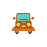 jeep, car, automobile icon. Element of color African safari icon. Premium quality graphic design icon. Signs and symbols collection icon for websites, web design