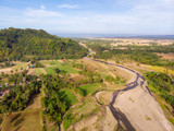 Agriculture Landscape, Philippines, Aerial View - 250024769