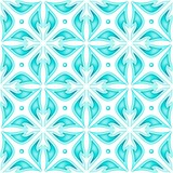 Colored Seamless Pattern with Floral Ethnic Motifs