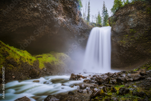 waterfall in forest - 250036727