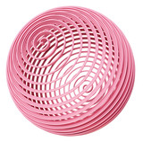 Abstract pink spiral sphere - 250044594