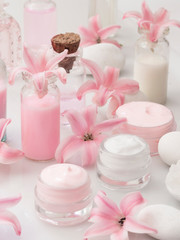 beauty product, fresh as spring flower concept © Vesna Cvorovic