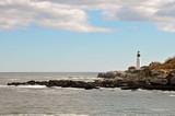 Lighthouse On The Coast Of Maine