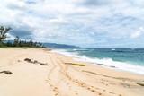 Sturm am einsamen Strand