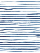 "Постер, картина, фотообои ""Abstract watercolor striped background in indigo blue"""