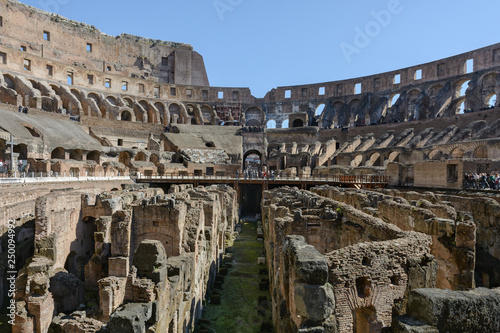 mata magnetyczna The Colosseum is a symbol of the strength, power and age-old history of Rome. It is considered the most beautiful and largest stadium of the ancient world. Ancient amphitheater.